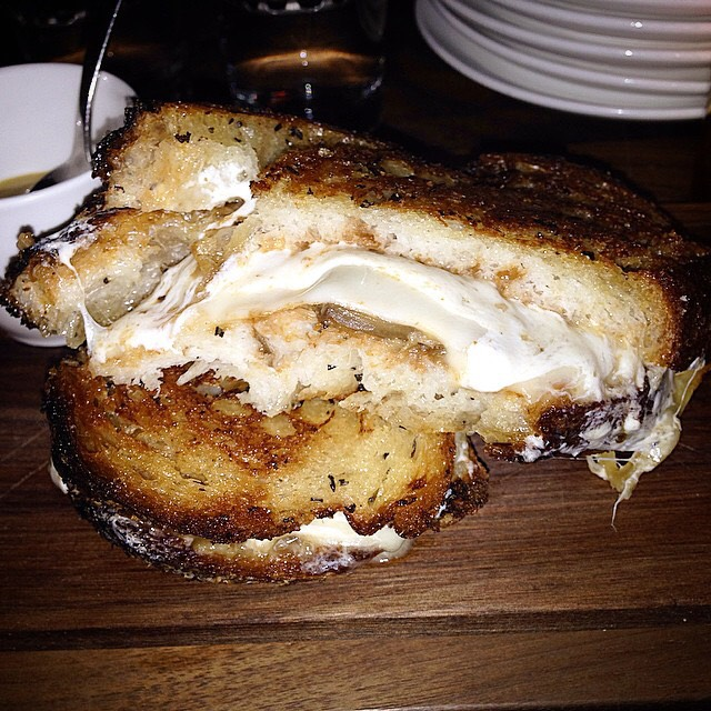 Grilled Cheese Sandwich at Bar Sardine on #foodmento http://foodmento.com/place/3542