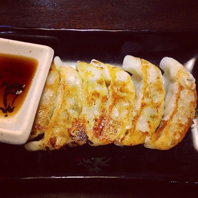 Gyoza (Fried Dumplings) at Ramen Setagaya on #foodmento http://foodmento.com/place/3998