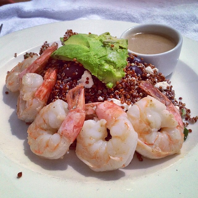 Shrimp & Quinoa Salad on #foodmento http://foodmento.com/dish/16831