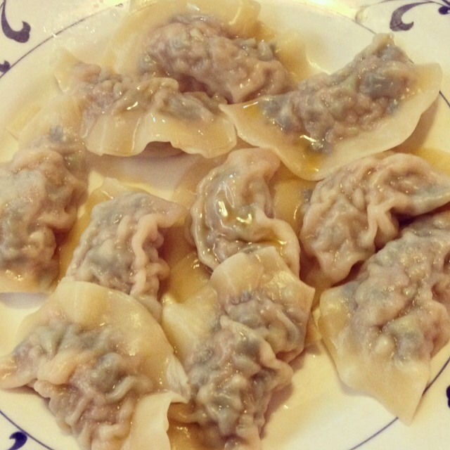 Boiled Pork & Chive Dumplings at Muk Eun Ji/Son Jja Jang (CLOSED) on #foodmento http://foodmento.com/place/4010