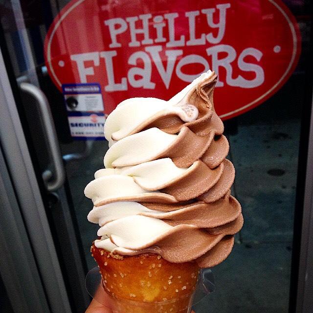 Soft Serve, Pretzel Cone on #foodmento http://foodmento.com/dish/17898