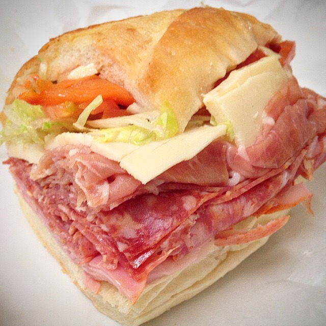 Italian Special (Prosciutto, Ham Capicola, Soppressata, Aged Provolone...) at Faicco's Pork Store on #foodmento http://foodmento.com/place/4377