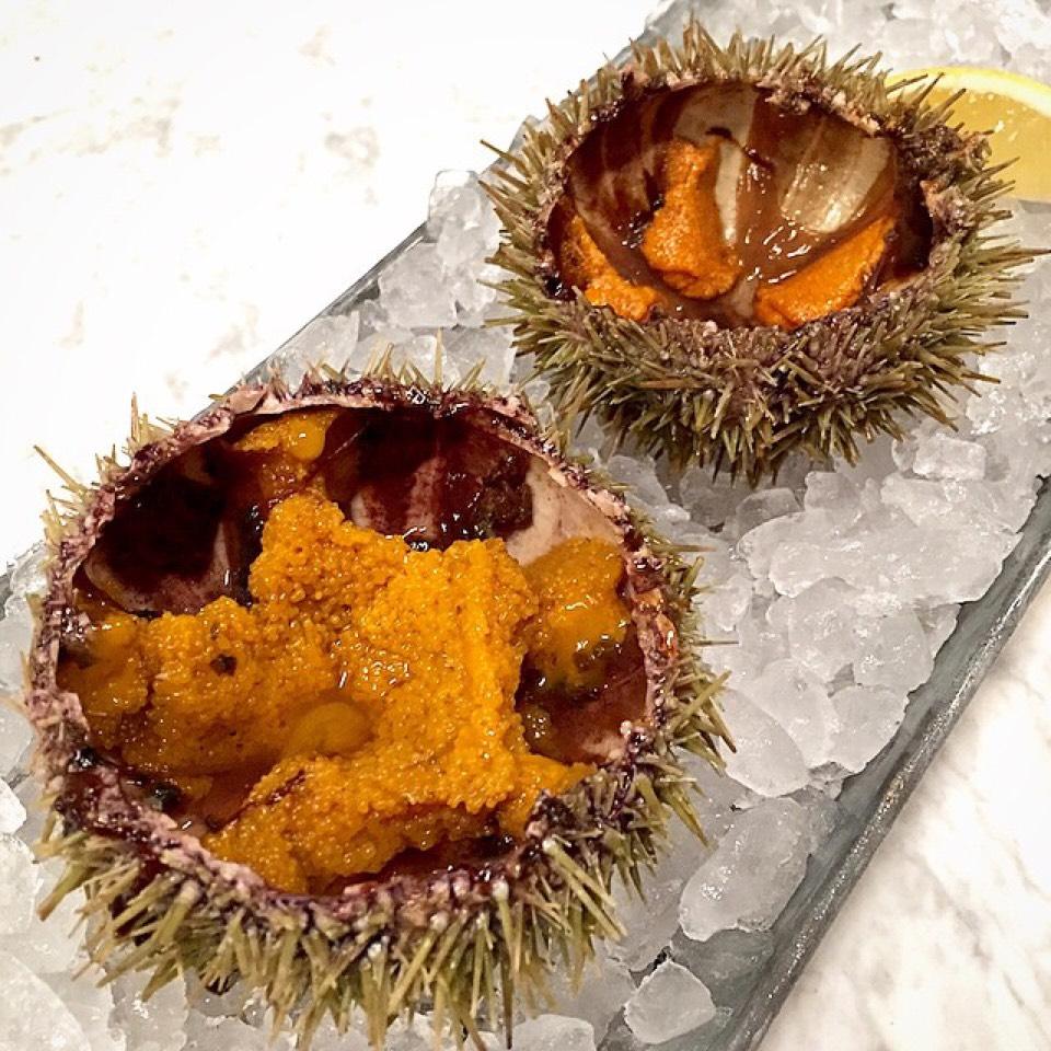 Massachusetts Sea Urchin (Uni) on #foodmento http://foodmento.com/dish/20842