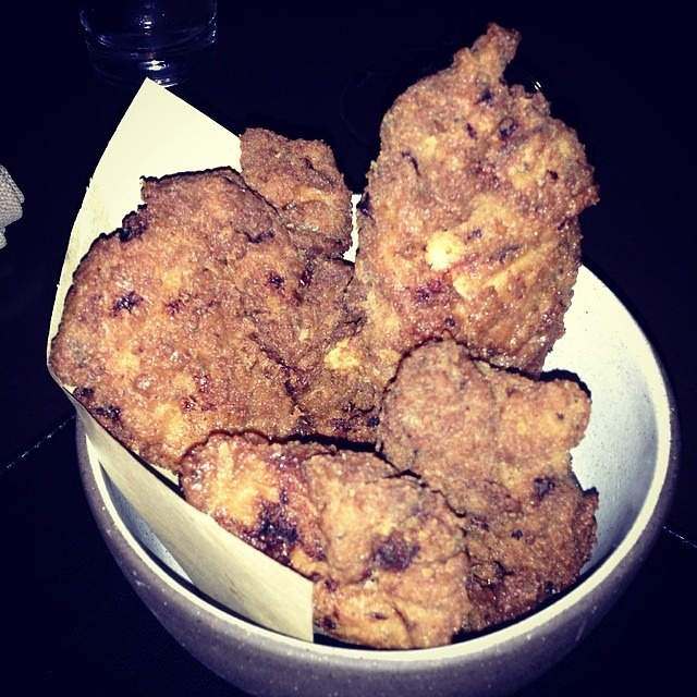 Fried Chicken (Bar Snack) at The NoMad Restaurant on #foodmento http://foodmento.com/place/971